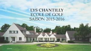 Lys Chantilly - Ecole de Golf - Saison 2015-2016_Page_01